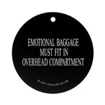 Overhead Baggage Ornament (Round)