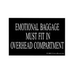 Overhead Baggage Rectangle Magnet (10 pack)