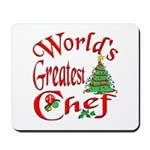 Greatest Chef Mousepad