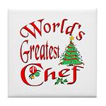 Greatest Chef Tile Coaster