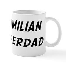 Maximilian is Superdad Small Mug