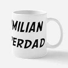 Maximilian is Superdad Small Small Mug