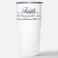 ...Faith... Stainless Steel Travel Mug