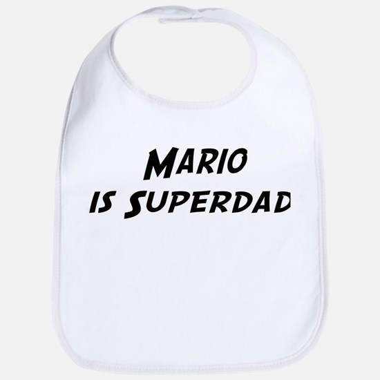 Mario is Superdad Bib