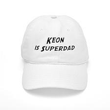 Keon is Superdad Baseball Cap