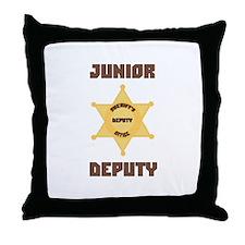 Junior Deputy Throw Pillow