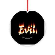 Evil Ornament (Round)