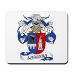 Lagarda Coat of Arms Mousepad