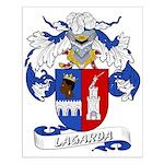 Lagarda Coat of Arms Small Poster