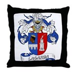 Lagarda Coat of Arms Throw Pillow
