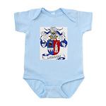 Lagarda Coat of Arms Infant Creeper