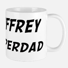 Geoffrey is Superdad Small Small Mug