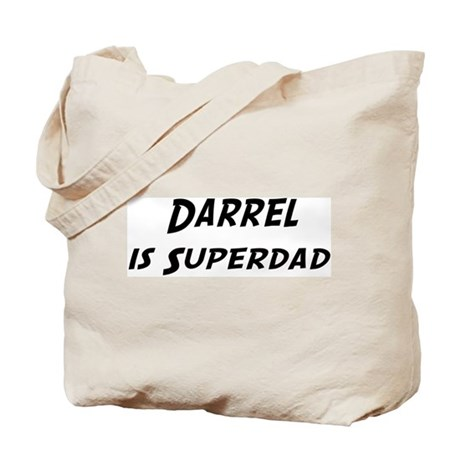 Darrel is Superdad Tote Bag