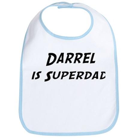 Darrel is Superdad Bib