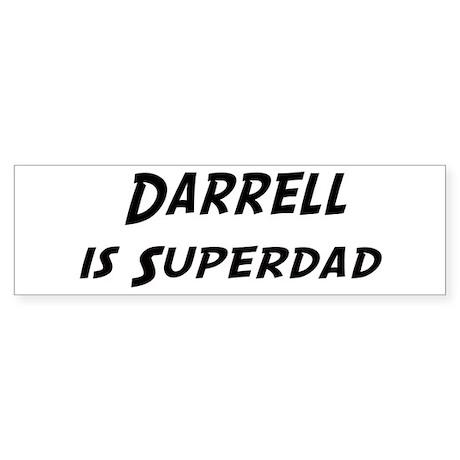 Darrell is Superdad Bumper Sticker