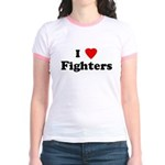 I Love Fighters Jr. Ringer T-Shirt