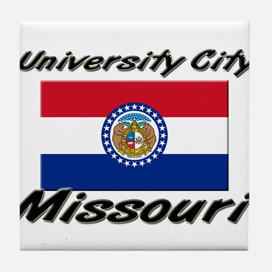 University City Missouri Tile Coaster