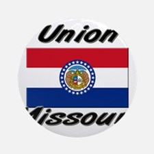 Union Missouri Ornament (Round)