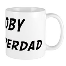 Coby is Superdad Small Mug