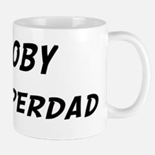 Coby is Superdad Small Small Mug