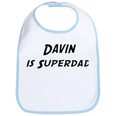 Davin is Superdad Bib