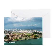 El Morro, Puerto Rico Greeting Card