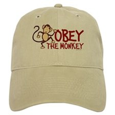 Obey The Monkey Baseball Cap
