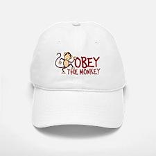 Obey The Monkey Baseball Baseball Cap