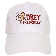 Obey The Monkey Baseball Cap
