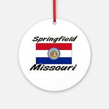 Springfield Missouri Ornament (Round)