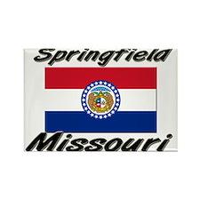 Springfield Missouri Rectangle Magnet