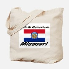 Sainte Genevieve Missouri Tote Bag