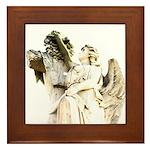 New Orleans cemetery angel Framed Tile