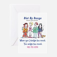 diet By Design 3 Greeting Card
