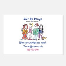diet By Design 3 Postcards (Package of 8)