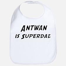 Antwan is Superdad Bib