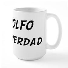 Adolfo is Superdad Mug