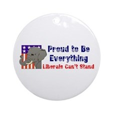 Proud to be everything liberals can't stand Orname