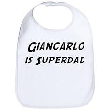 Giancarlo is Superdad Bib