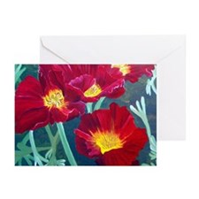 Red Poppy Greeting Cards (Pk of 10)