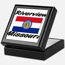 Riverview Missouri Keepsake Box