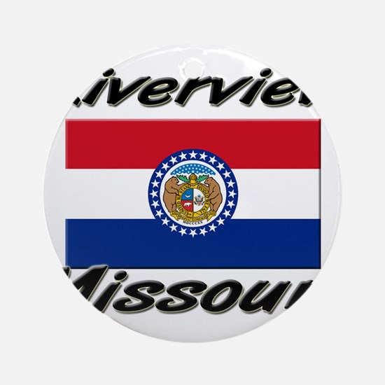 Riverview Missouri Ornament (Round)