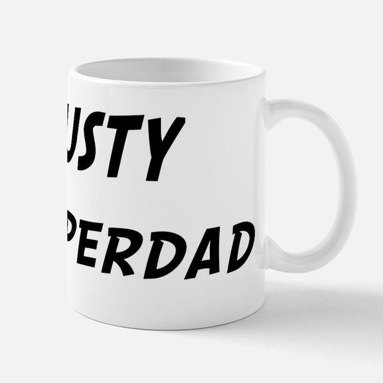 Dusty is Superdad Mug