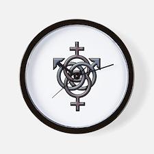 Swingers Symbol Wall Clock