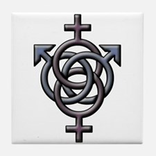 Swingers Symbol Tile Coaster