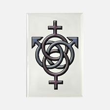 Swingers Symbol Rectangle Magnet