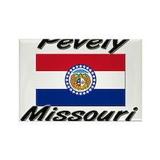 Pevely Missouri Rectangle Magnet