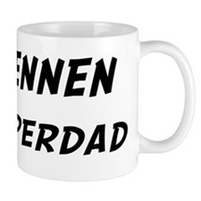 Brennen is Superdad Small Mug