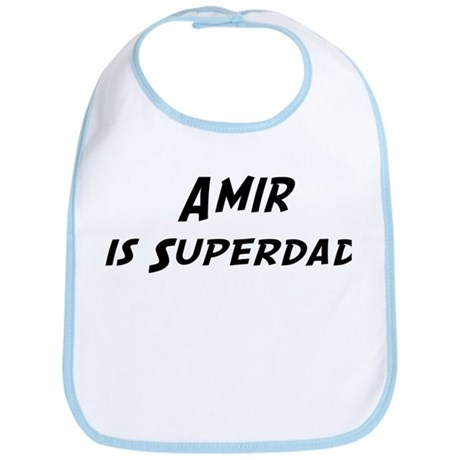 Amir is Superdad Bib