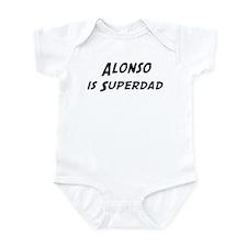 Alonso is Superdad Infant Bodysuit